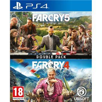 Doble pack Far Cry 5 + Far Cry 4 PS4