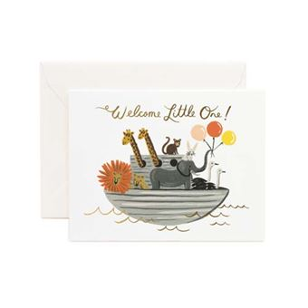Postal Pepa Paper Noahs Ark - Welcome little one