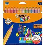 24 lápices para colorear BIC Kids Evolution Stripes