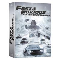 Pack A todo gas - Fast and Furious 1-8  - DVD