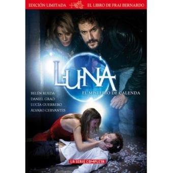 Luna el misterio de Calenda - Temporadas 1 y 2  + Libro - DVD