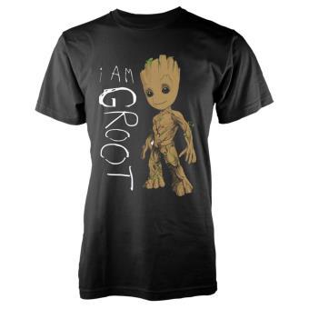 Camiseta Marvel Guardianes de la Galaxia - I´m Groot Gris Talla M