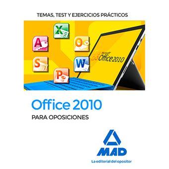 Office 2010 temas+test+ejercicios p