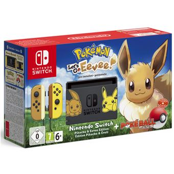 Nintendo Switch Pokémon Let's Go, Eevee! + Pokéball Edición Limitada
