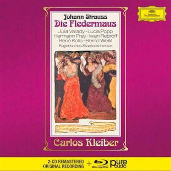 Strauss - Die Fledermaus - 2 CD + Blu-Ray