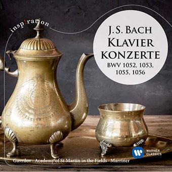 J. S. Bach - Piano Concertos BWV 1052, 1053, 1055 & 1056