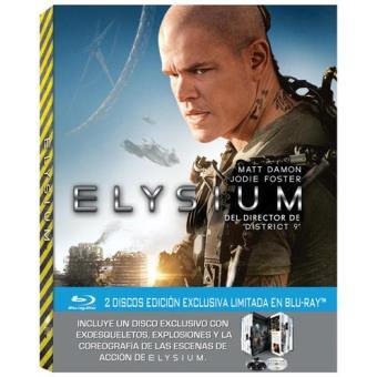Elysium -  Ed especial - Blu-Ray + Libro