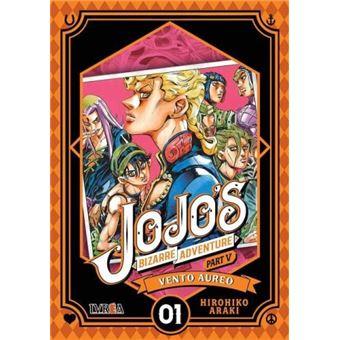 JoJo's Bizarre Adventure Parte 05: Vento Aureo nº 01