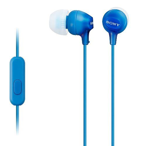 Auriculares Sony MDR-EX15AP Azul