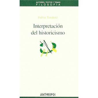 Interpretación del historicismo