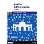 Temario 1 Auxiliares Administrativos del Ayuntamiento de Madrid