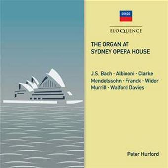 Organ At Sydney Opera..