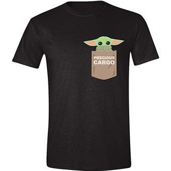 Camiseta Star Wars - The Child Pocket Negro Talla M