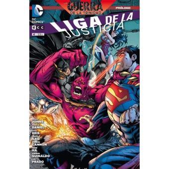 La Liga de la Justicia 4. Prólogo La Guerra de la Trinidad (Rústica)