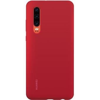 HUAWEI P30 SILICON CASE RED