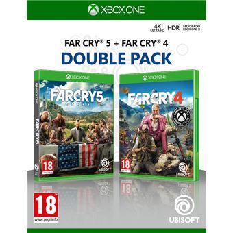 Doble pack Far Cry 5 + Far Cry 4 Xbox One