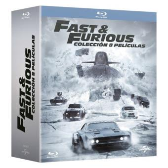 Pack A todo gas - Fast and Furious 1-8 - Blu-Ray