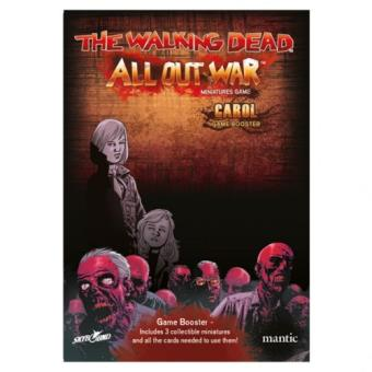The Walking Dead. All Out War. Booster Carol