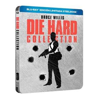 Pack Jungla de cristal. Colección completa - Steelbook Blu-Ray
