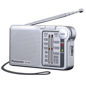 Radio Portátil Panasonic RF-P150DEG-S AM/FM