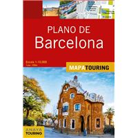 Mapa Touring - Plano de Barcelona
