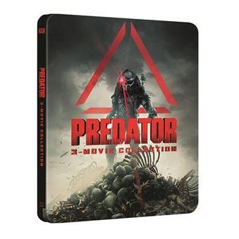 Trilogía Predator - Steelbook Blu-Ray