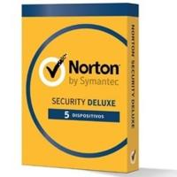 Norton Security Deluxe 1 año 5 Dispositivos