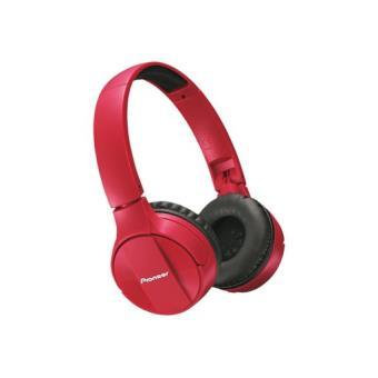 Auriculares Bluetooth Pioneer SE-MJ553BT Rojo