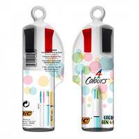 Pack megatubo Bic 3 bolígrafos, 2 fluorescentes + corrector Surtido