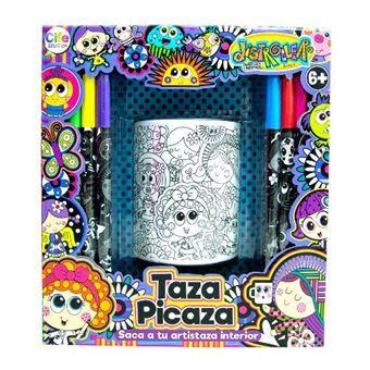 Taza Picaza + Rotuladores