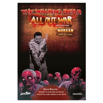 The Walking Dead. All Out War. Booster Mongan