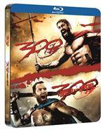 Pack 300 1-2 - Steelbook Blu-Ray