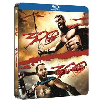 Pack 300 1-2 - Steelbook Blu-Ray