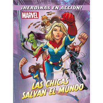 Marvel. Las chicas salvan el mundo