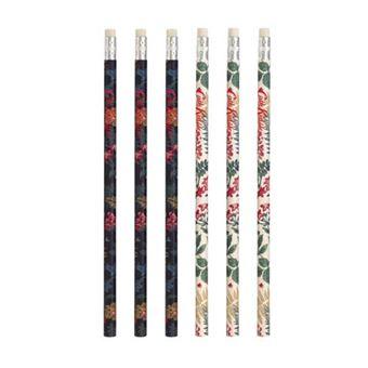 Set de 6 lápices Cath Kidston Twilight Garden