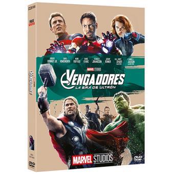 Los Vengadores 2: La era de ultrón  Ed Oring - DVD