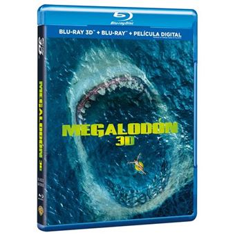 Megalodón - 3D + Blu-Ray