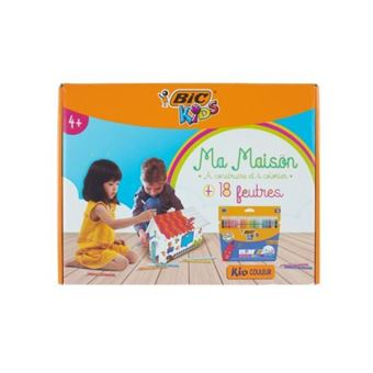 Bic Kids - Permanente Coloring House 12 rotuladores