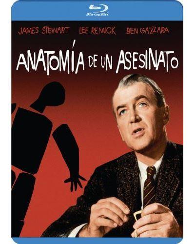 Anatomía de un asesinato - Blu-Ray - Blu-ray - Otto Preminger - Ben ...