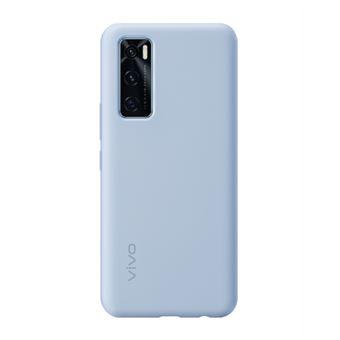 Funda de silicona Vivo Azul para Y70