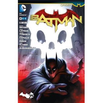 Batman núm. 25 Grapa Origen