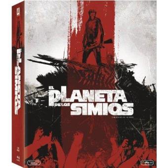 El Planeta de los simios. La saga completa. 8 películas - Blu-Ray