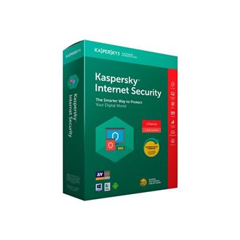 Antivirus Kaspersky Internet Security 2018 1 Licencia