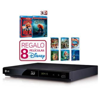 LG BP325  Blu-Ray Pack Películas Disney