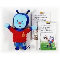 Pupi futbolista pack. Libro + muñeco