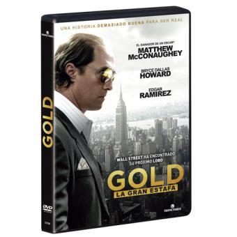Gold, la gran estafa - DVD