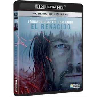 El renacido - The Revenant - UHD + Blu-Ray