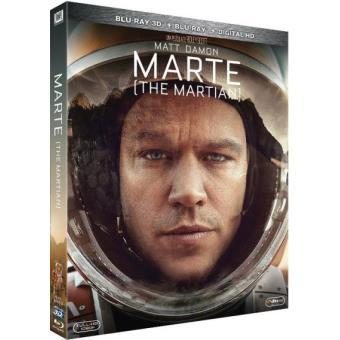 Marte - The Martian - Blu-Ray + 3D