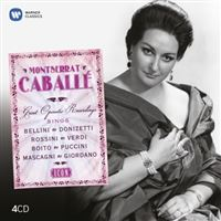 Icon: Montserrat Caballé Great Operatic Recordings -  4 CD