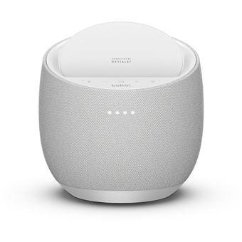 Altavoz inteligente Belkin Soundform Elite Smart + cargador inalámbrico AirPlay Blanco